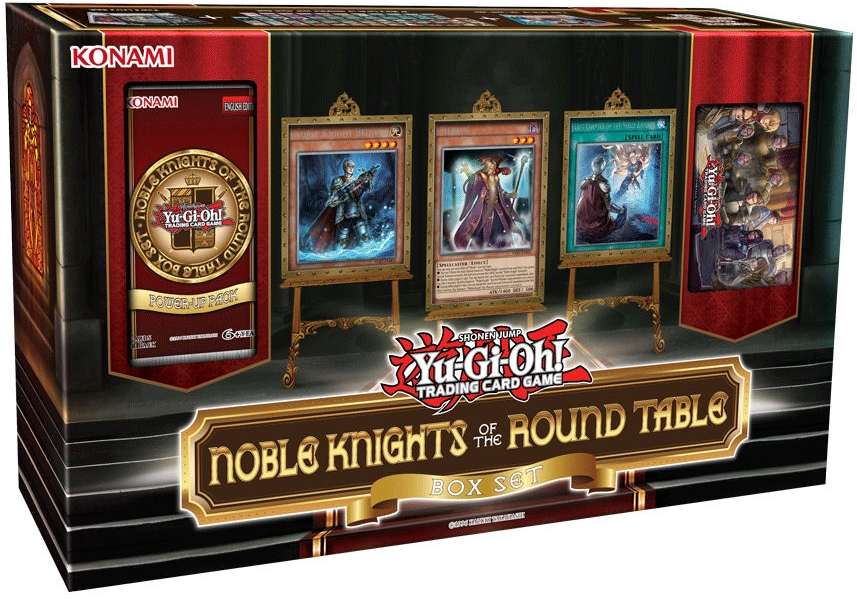 Yu-Gi-Oh Noble Knights of the Round Table Box Set