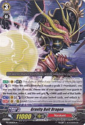 Gravity Bolt Dragon - PR/0106EN-A - PR