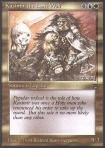 Kasimir the Lone Wolf