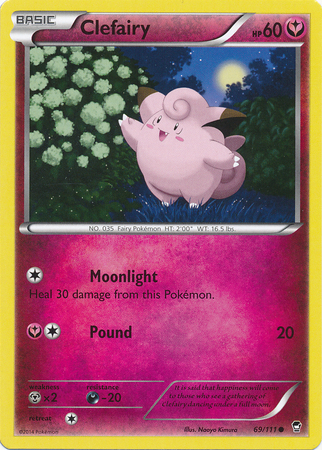 Clefairy - 69/111 - Common