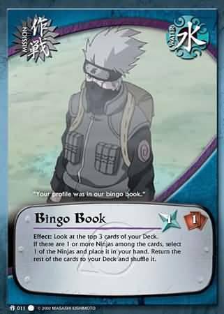 Bingo Book - M-011 - Common - 1st Edition