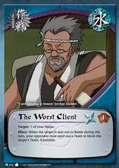 The Worst Client - M-012 - Common - 1st Edition