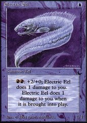 Electric Eel on Channel Fireball