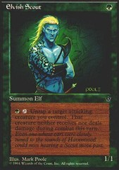 Elvish Scout (Mark Poole)