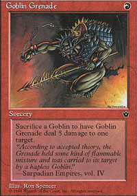 Goblin Grenade [Version 1]