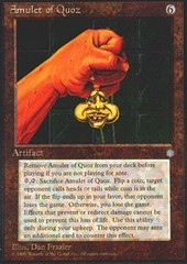 Amulet of Quoz on Channel Fireball
