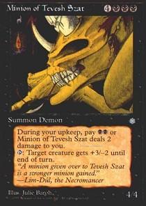 Minion of Tevesh Szat