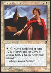 Abbey Matron (2) on Channel Fireball