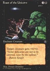 Feast of the Unicorn [Green Creature]