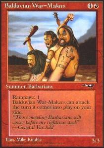 Balduvian War-Makers (Two Clubs, Side View)