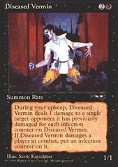 Diseased Vermin on Channel Fireball