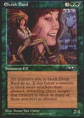Elvish Bard on Channel Fireball