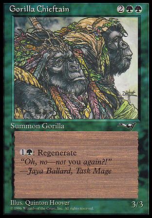 Gorilla Chieftain (2 Gorillas)