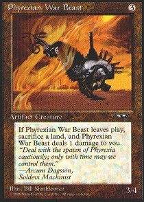 Phyrexian War Beast (Propeller Left)