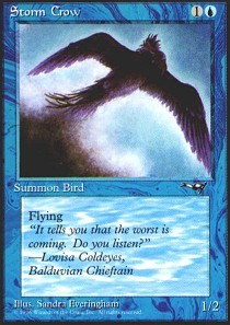 Storm Crow (Flying Right)
