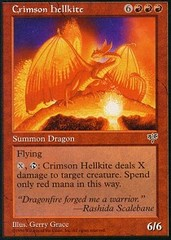 Crimson Hellkite on Channel Fireball
