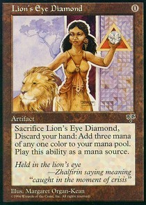 Lions Eye Diamond