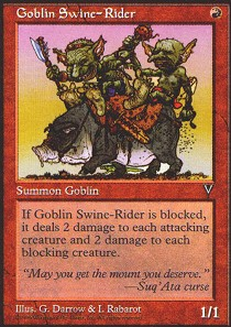 Goblin Swine-Rider