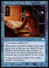 Ancestral Knowledge on Channel Fireball