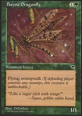 Bayou Dragonfly on Channel Fireball