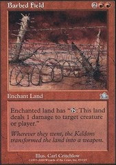 Barbed Field on Channel Fireball