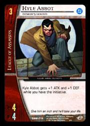 Kyle Abbot, Demons Hound