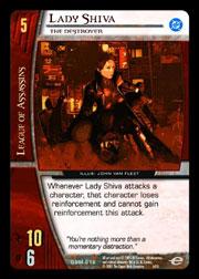 Lady Shiva, The Destroyer