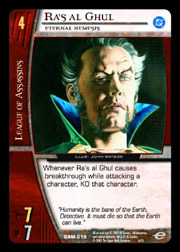 Ras al Ghul, Eternal Nemesis