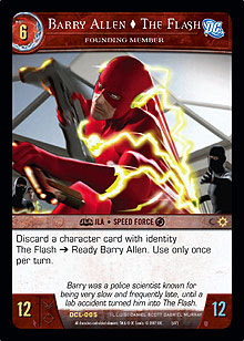 Barry Allen, The Flash, Founding Member