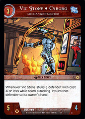 Vic Stone, Cyborg, Mechanized Mentor