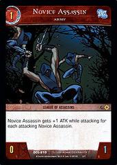 Novice Assassin, Army