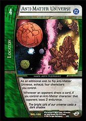 Anti-Matter Universe