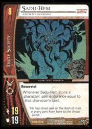 Sadu-Hem, Ancient Godling