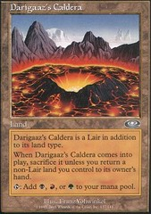 Darigaaz's Caldera on Channel Fireball