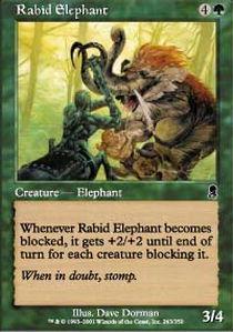 Rabid Elephant
