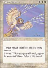Wing Shards on Channel Fireball