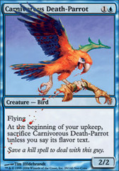Carnivorous Death-Parrot on Channel Fireball