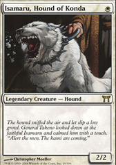 Isamaru, Hound of Konda on Channel Fireball