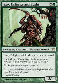 Isao, Enlightened Bushi