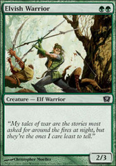 Elvish Warrior on Channel Fireball