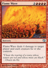 Flame Wave on Channel Fireball