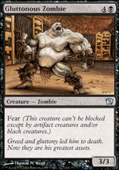 Gluttonous Zombie on Channel Fireball