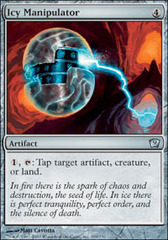 Icy Manipulator on Channel Fireball