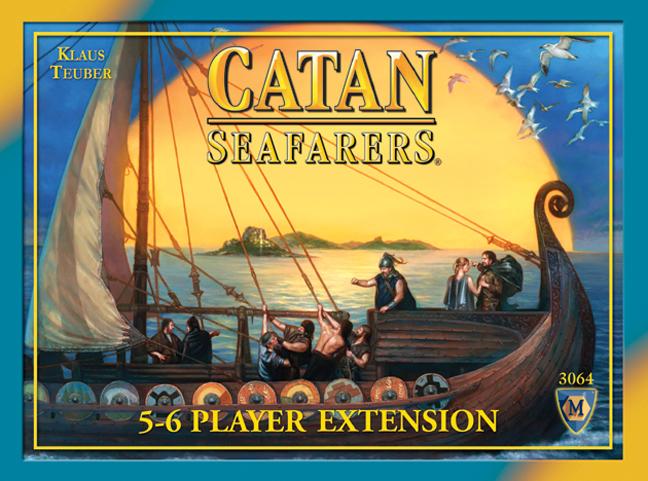 Catan Seafarers  5-6 Player Extension