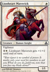 Lionheart Maverick on Channel Fireball