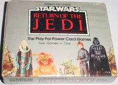 Star Wars: Return of the Jedi - The Play-for-Power Card Games