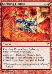 Cackling Flames on Channel Fireball