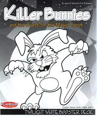 Killer Bunnies and the Quest for the Magic Carrot Twilight WHITE Booster