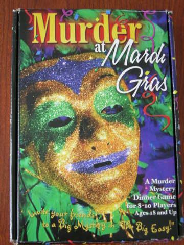 Dinner Games: Murder at Mardi Gras