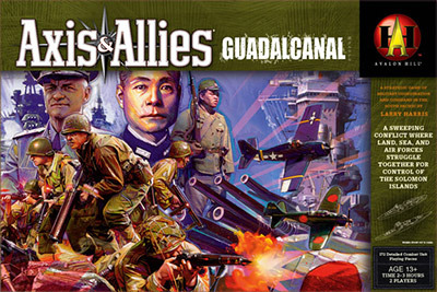 Axis & Allies: Guadalcanal - Board Games » Avalon Hill Games